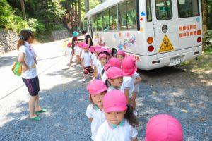 園外保育専用バス